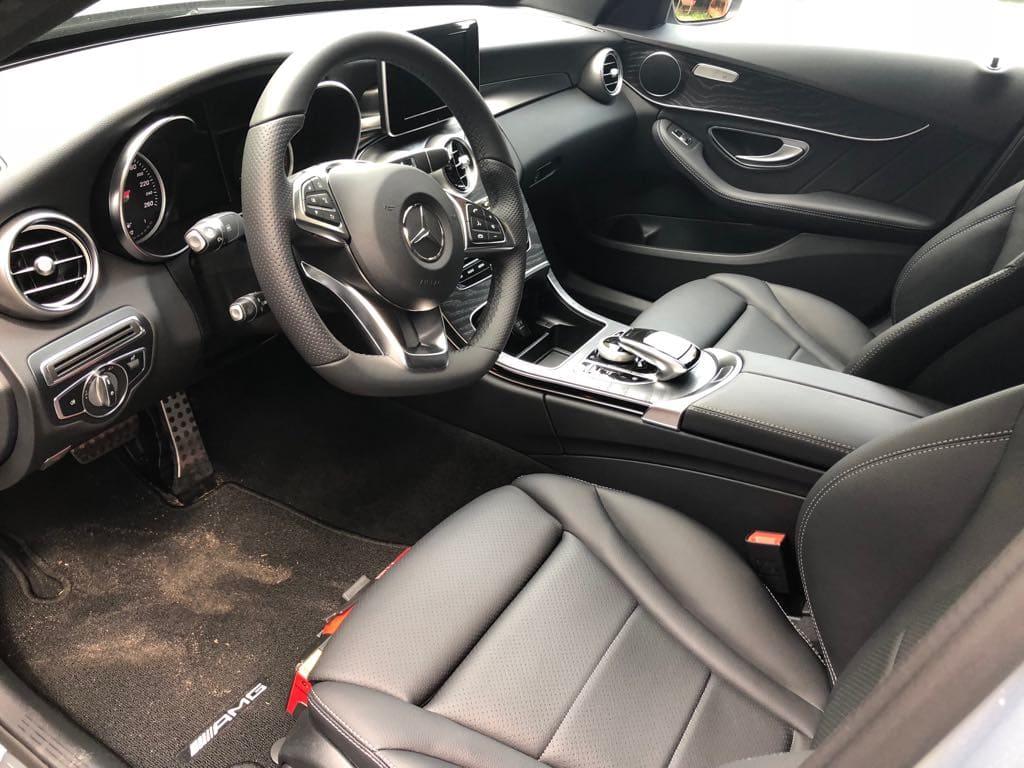 Mercedes C Klasa wynajem samochodów warszawa 14