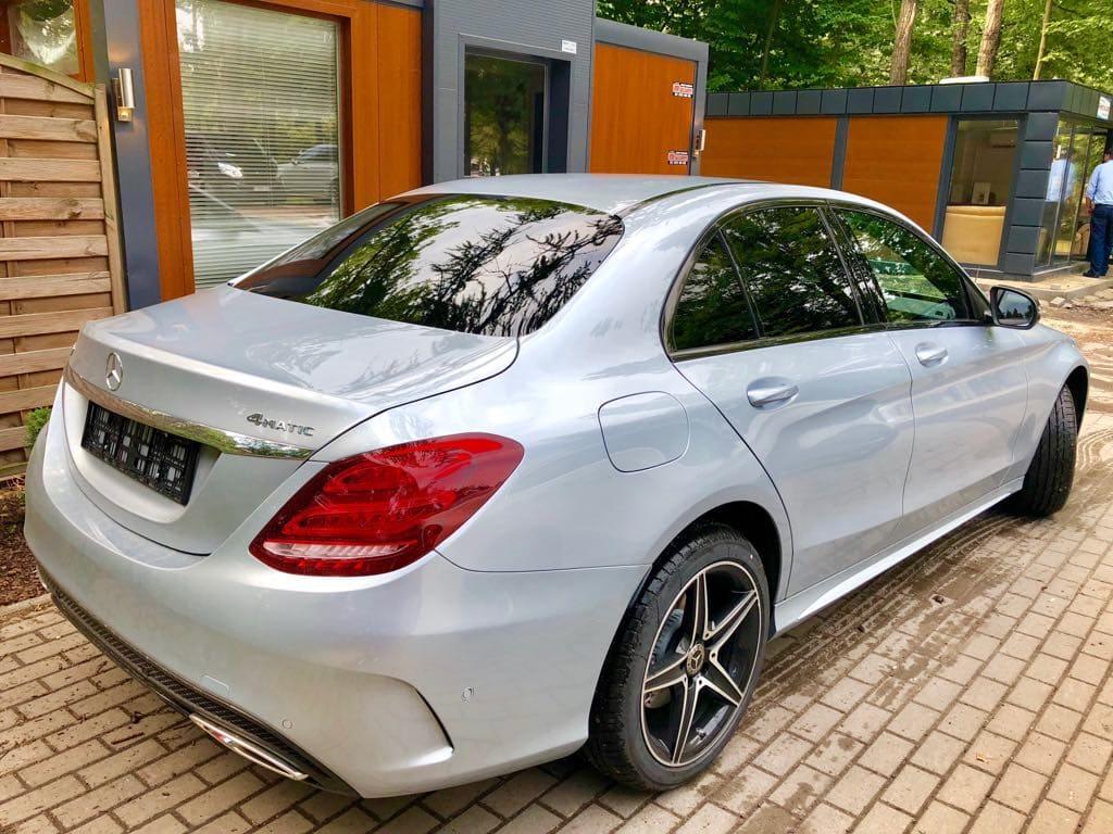 Mercedes C Klasa wynajem samochodów warszawa 5