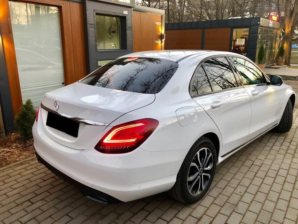 Mercedes C Klasa wynajem samochodów warszawa 6