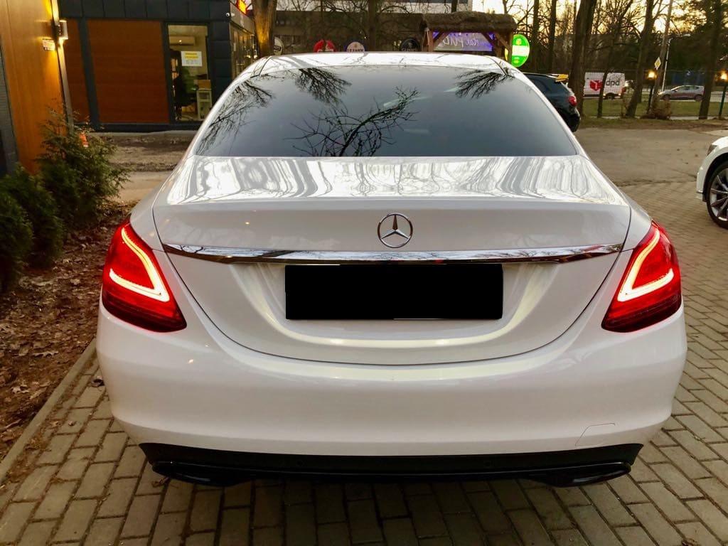 Mercedes C Klasa wynajem samochodów warszawa 8
