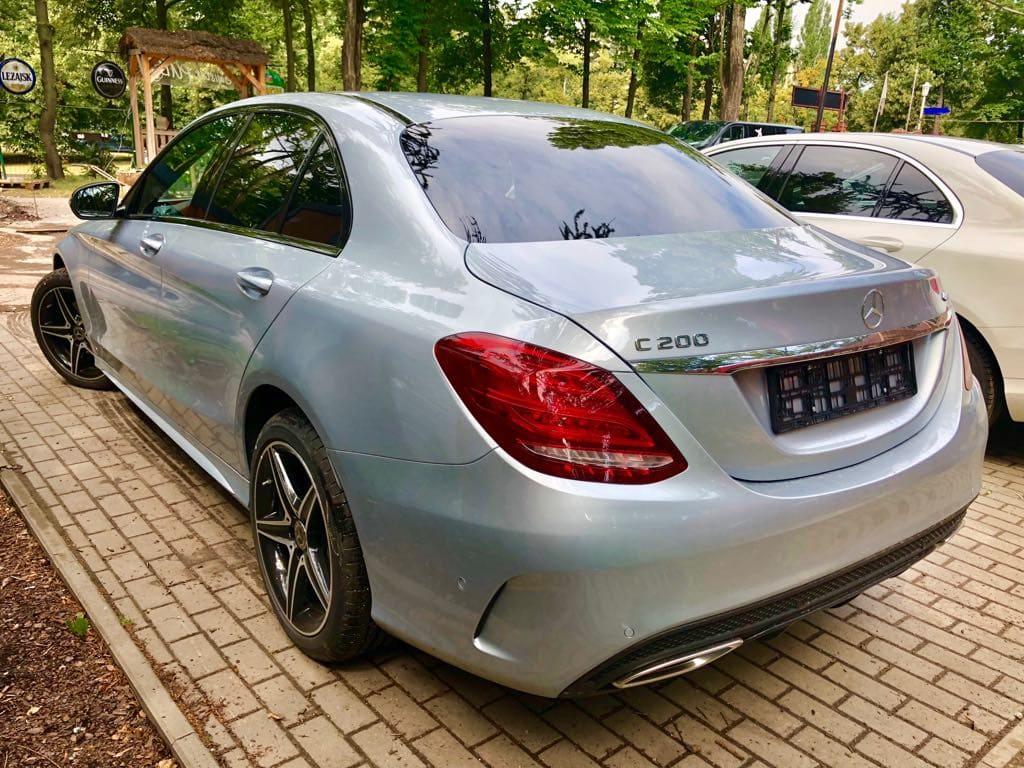 Mercedes C Klasa wynajem samochodów warszawa 9