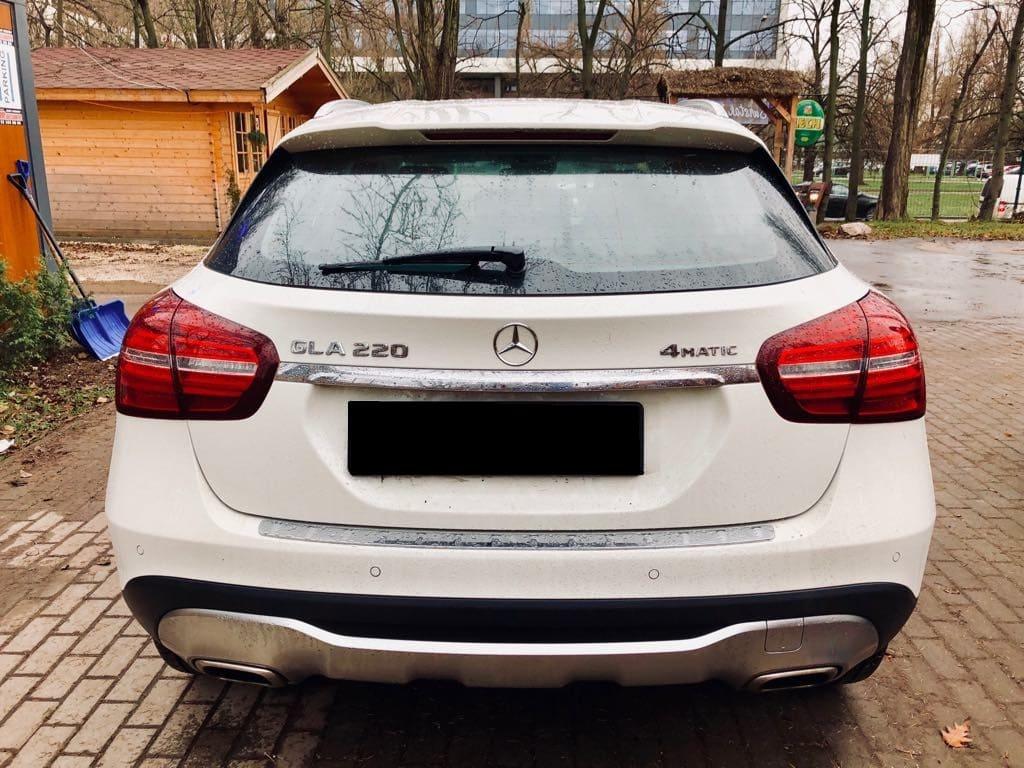 Mercedes GLA wynajem samochodów warszawa 3