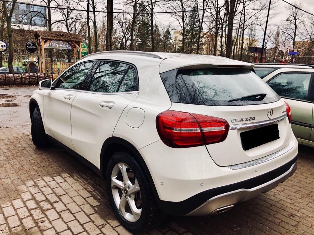 Mercedes GLA wynajem samochodów warszawa 4