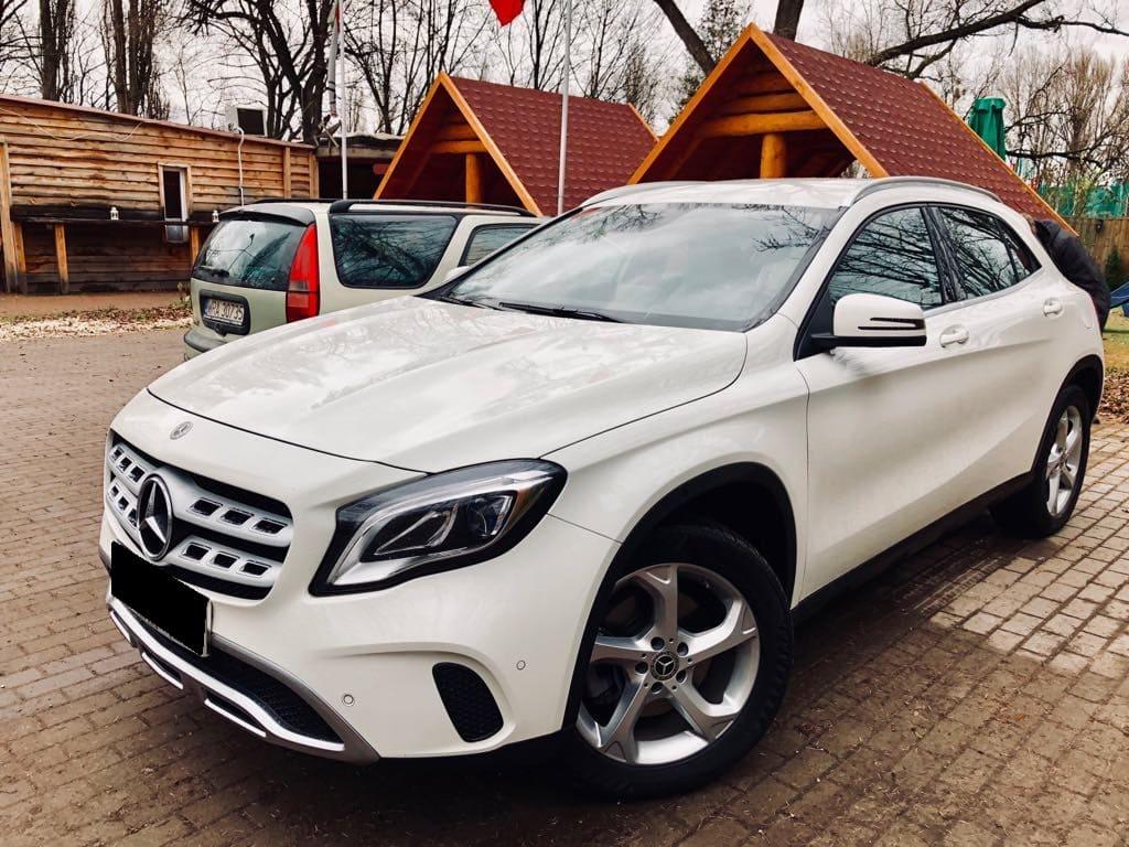 Mercedes GLA wynajem samochodów warszawa 5