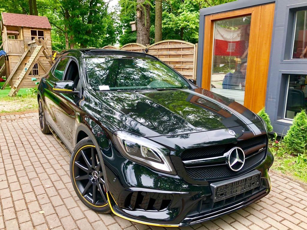Mercedes GLA45 AMG wynajem samochodów warszawa 14