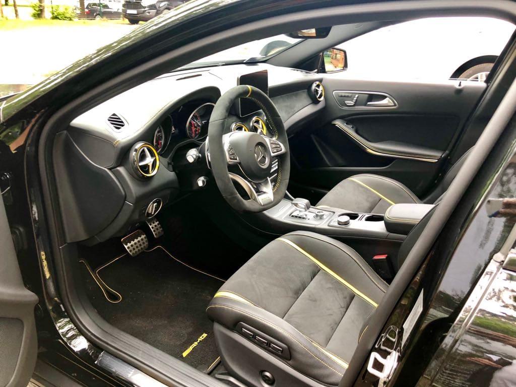 Mercedes GLA45 AMG wynajem samochodów warszawa 16
