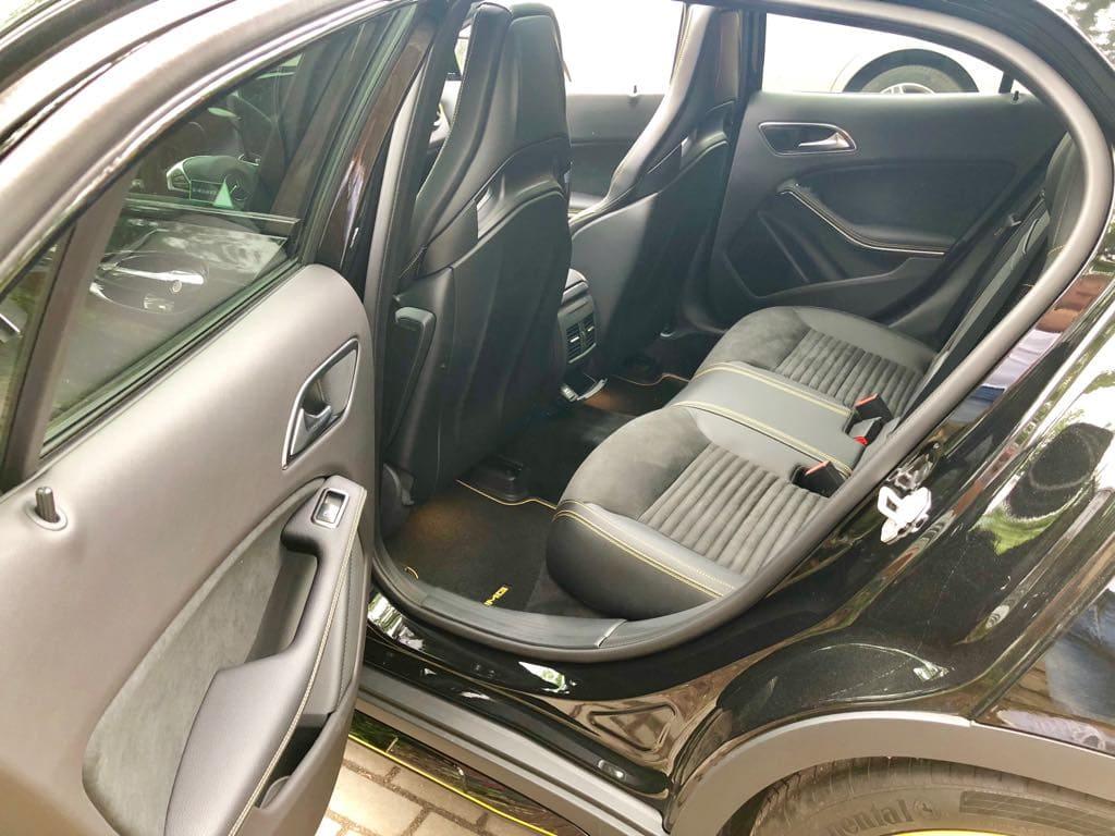 Mercedes GLA45 AMG wynajem samochodów warszawa 18