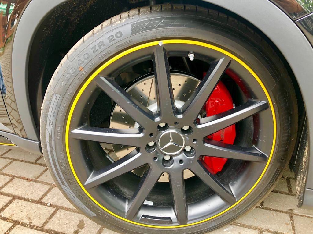 Mercedes GLA45 AMG wynajem samochodów warszawa 19