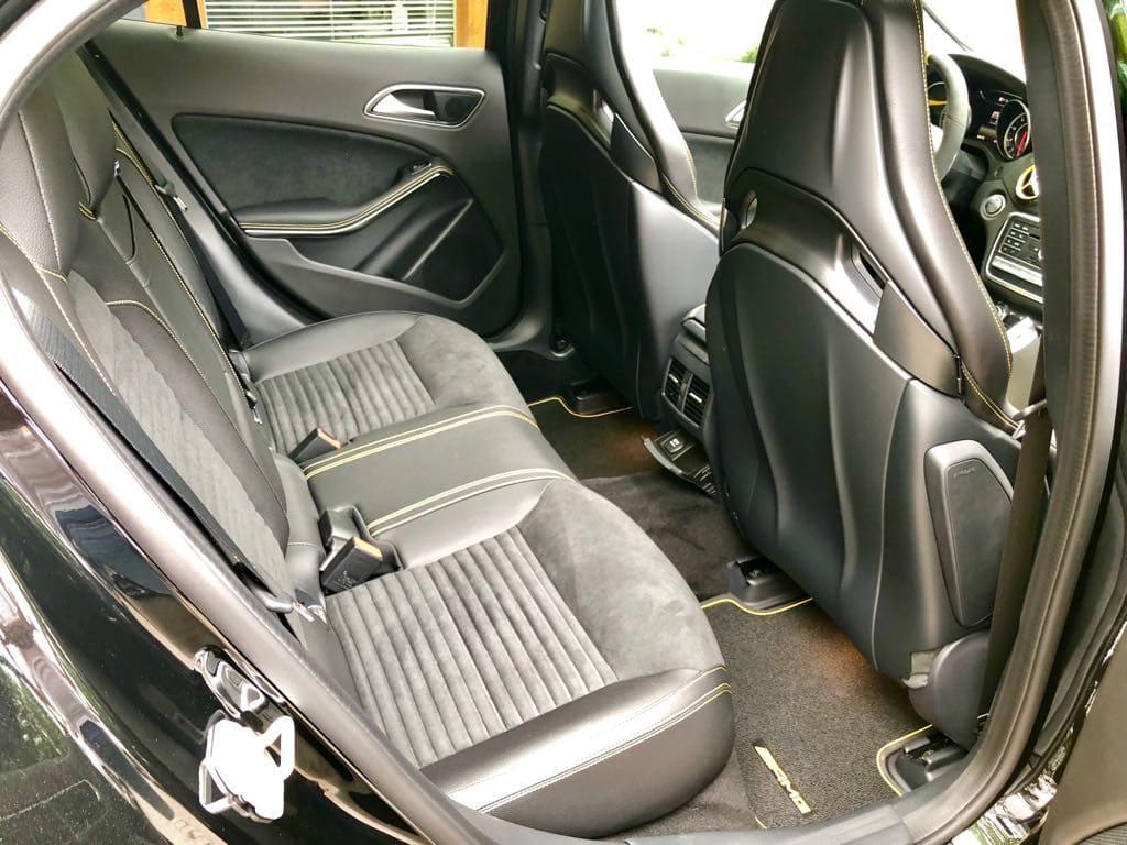 Mercedes GLA45 AMG wynajem samochodów warszawa 20