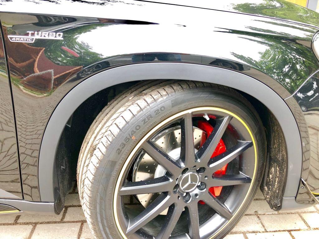Mercedes GLA45 AMG wynajem samochodów warszawa 21