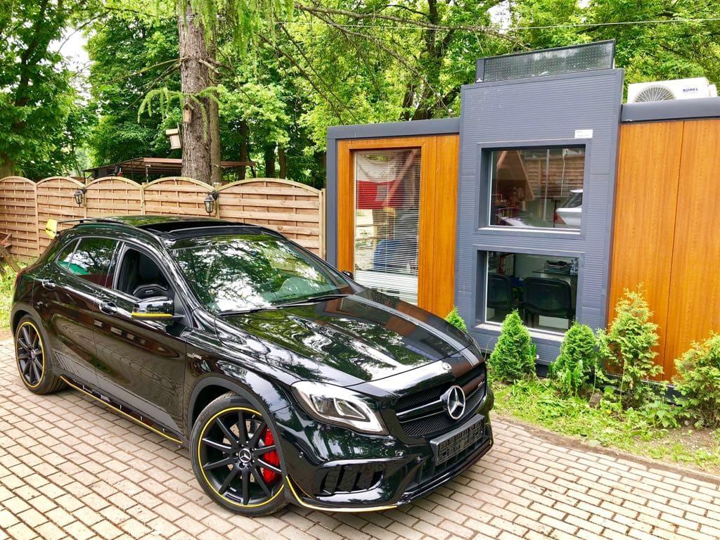 Mercedes GLA45 AMG wynajem samochodów warszawa 22