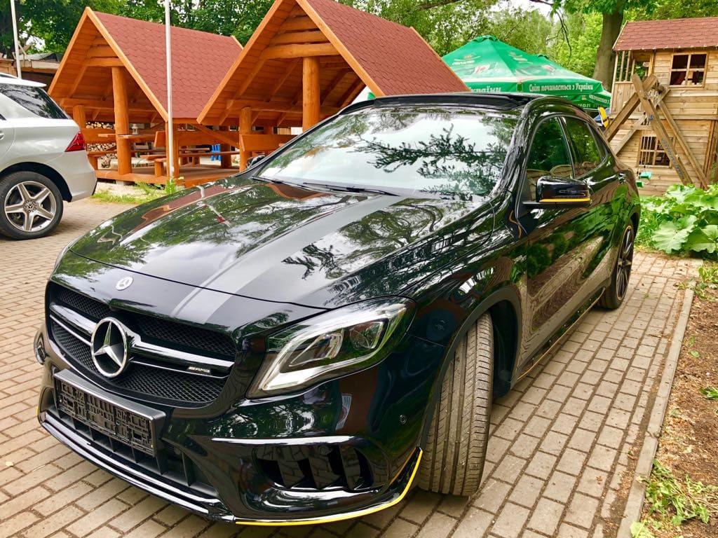 Mercedes GLA45 AMG wynajem samochodów warszawa 5