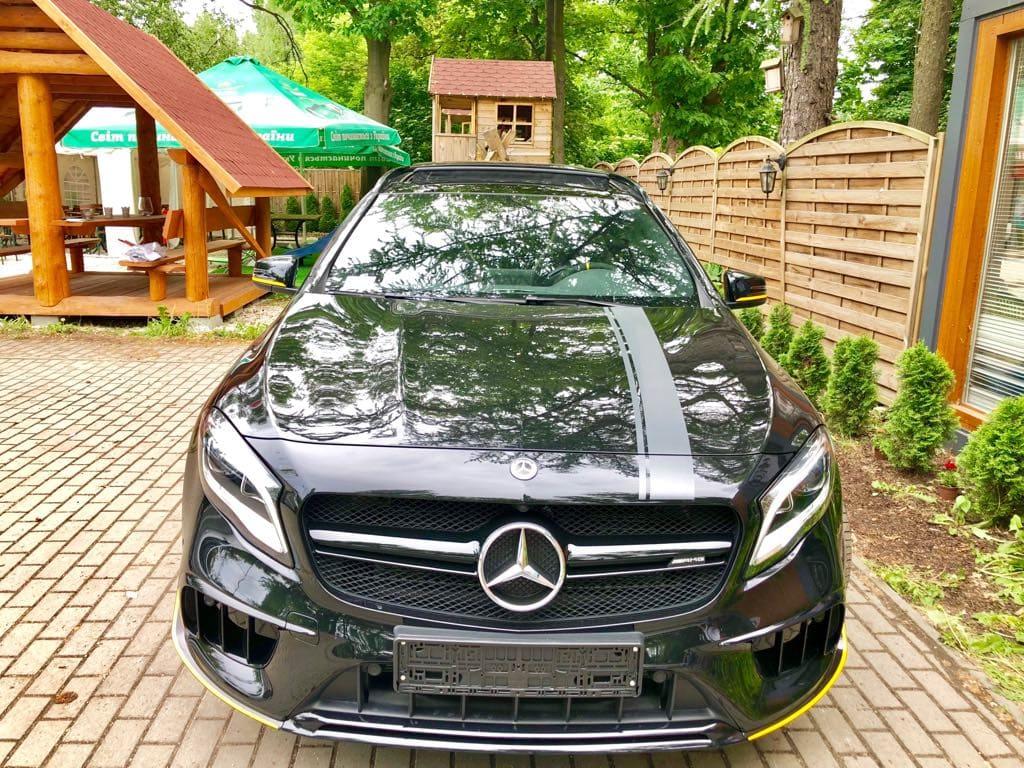 Mercedes GLA45 AMG wynajem samochodów warszawa 6