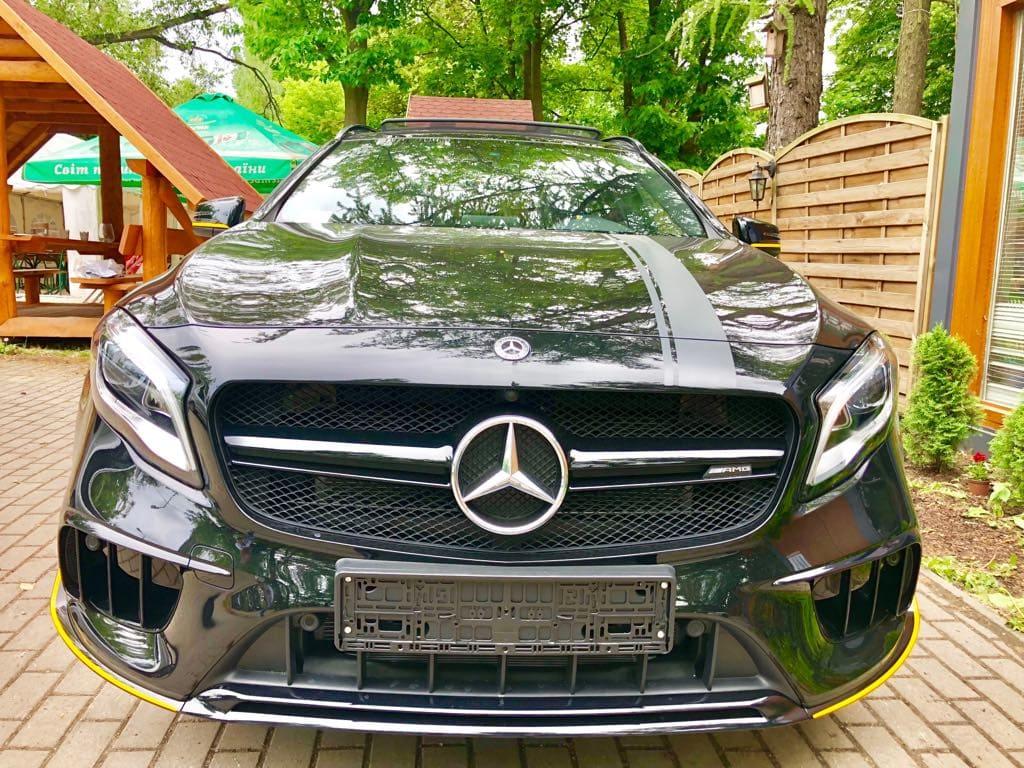 Mercedes GLA45 AMG wynajem samochodów warszawa 7