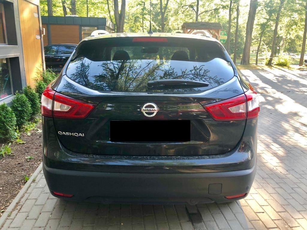 Nissan Quashqai wynajem samochodów warszawa 3