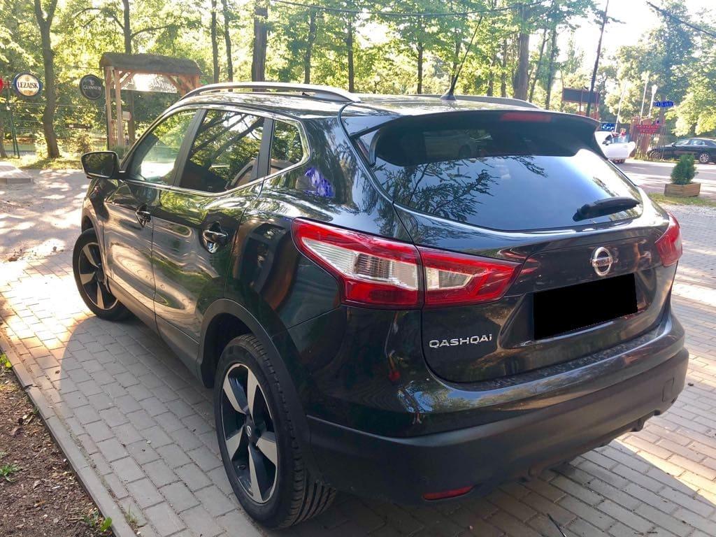 Nissan Quashqai wynajem samochodów warszawa 4