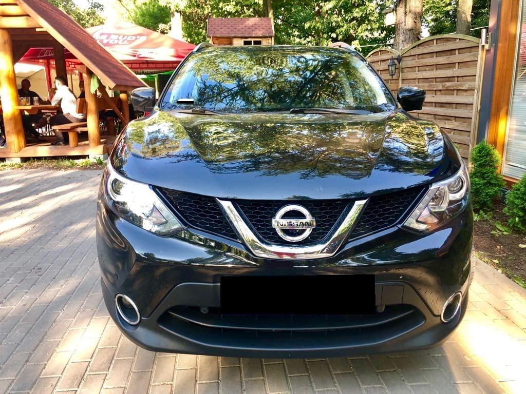 Nissan Quashqai wynajem samochodów warszawa 6
