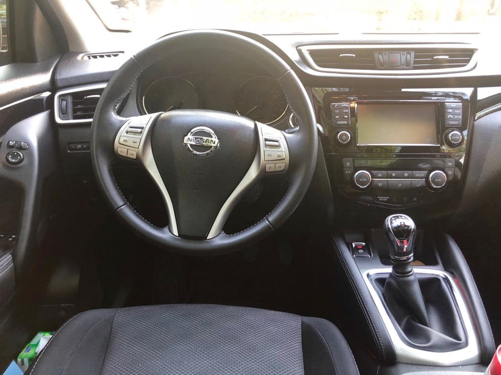 Nissan Quashqai wynajem samochodów warszawa 7