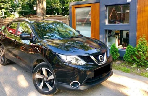 Nissan Quashqai wynajem samochodów warszawa