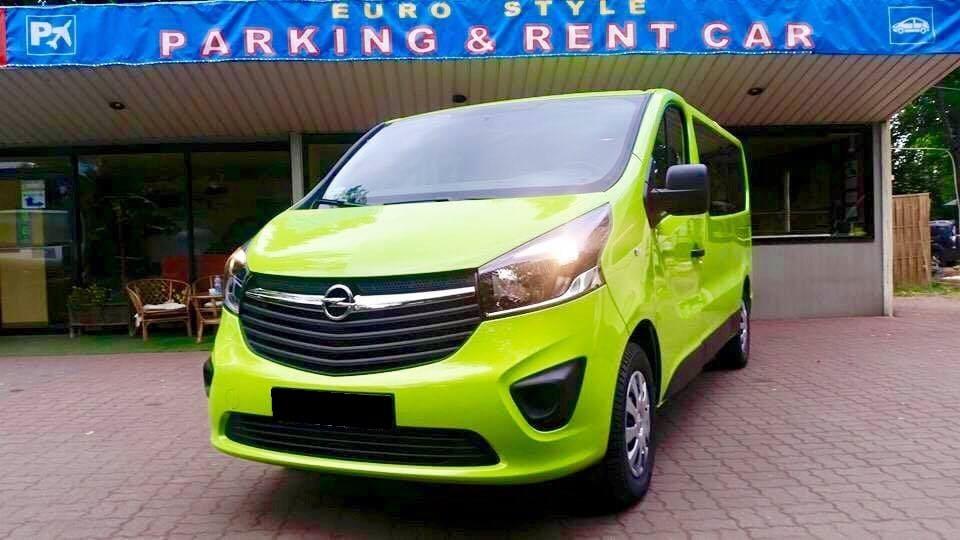 Opel Vivaro wynajem samochodów warszawa 2