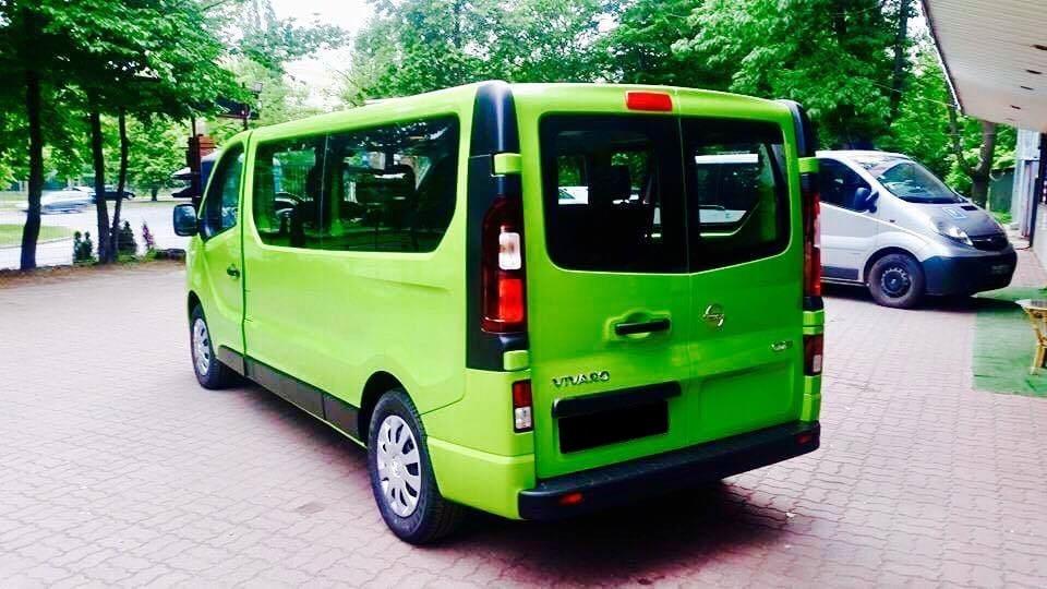 Opel Vivaro wynajem samochodów warszawa 3