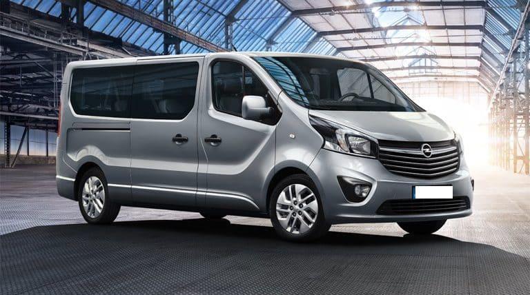 Opel Vivaro wynajem samochodów warszawa 5