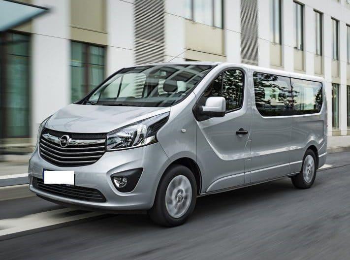 Opel Vivaro wynajem samochodów warszawa 6