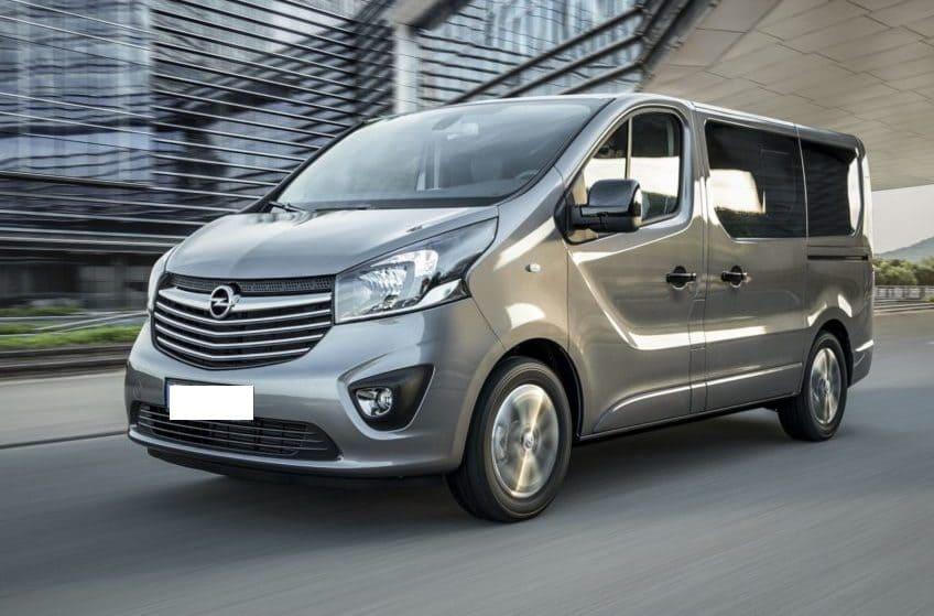 Opel Vivaro wynajem samochodów warszawa 7