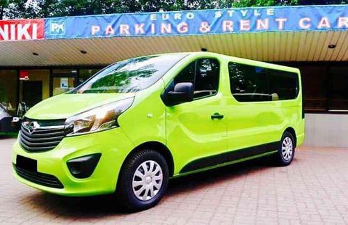 Opel Vivaro wynajem samochodów warszawa