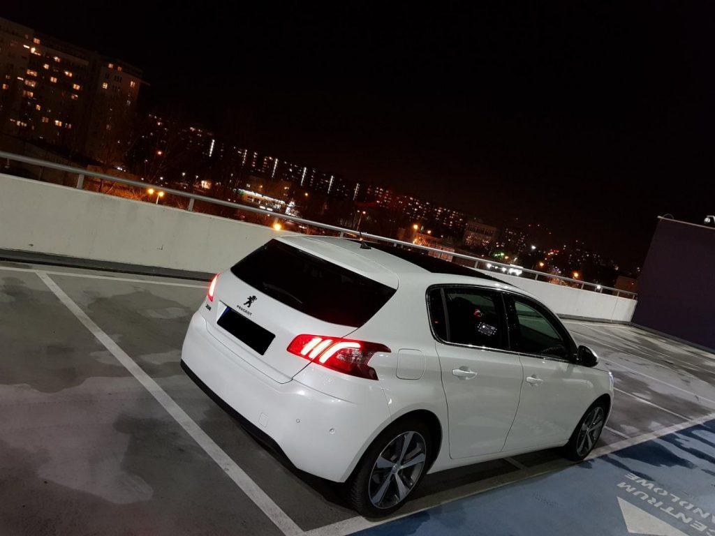 Peugeot 308 wynajem samochodow warszawa 3