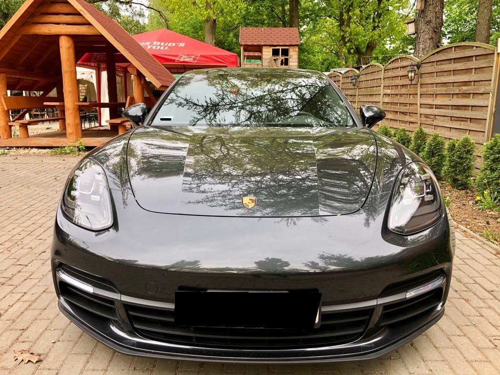 Porsche Panamera 4S wynajem samochodów warszawa 6