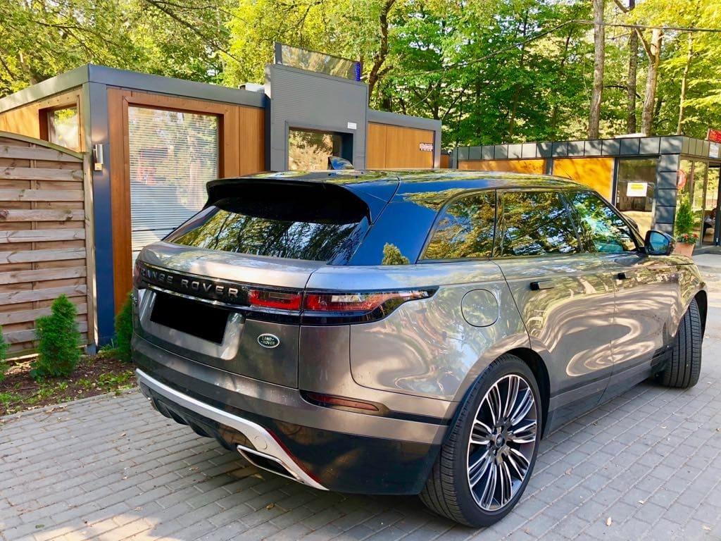 Range Rover Land Rover Velar wynajem samochodów warszawa 2