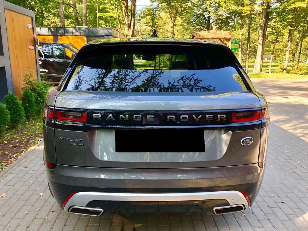 Range Rover Land Rover Velar wynajem samochodów warszawa 3