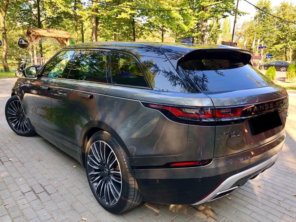 Range Rover Land Rover Velar wynajem samochodów warszawa 4