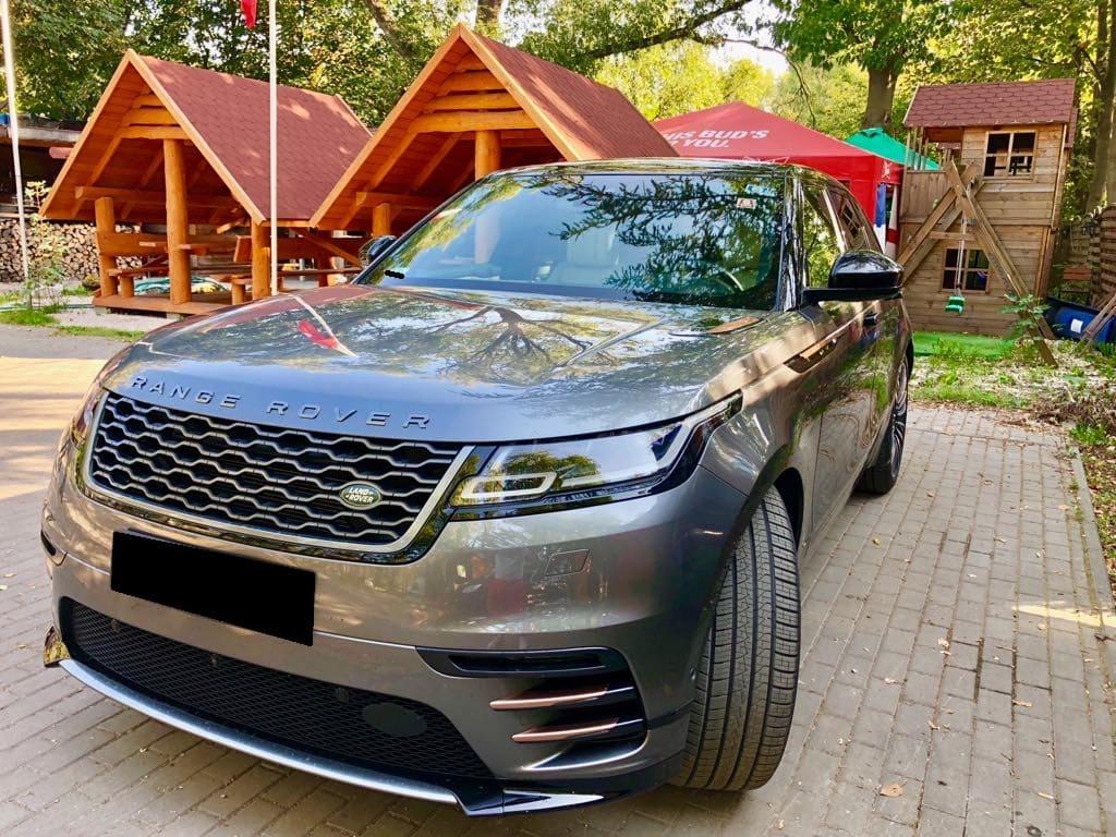 Range Rover Land Rover Velar wynajem samochodów warszawa 5
