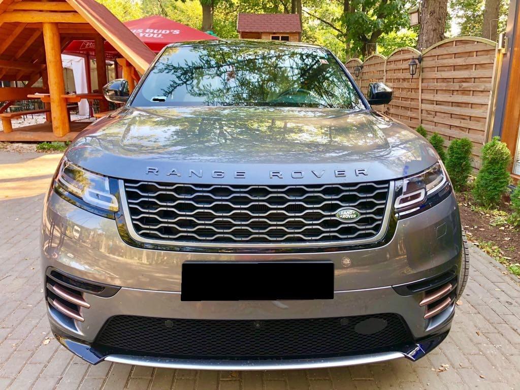 Range Rover Land Rover Velar wynajem samochodów warszawa 6