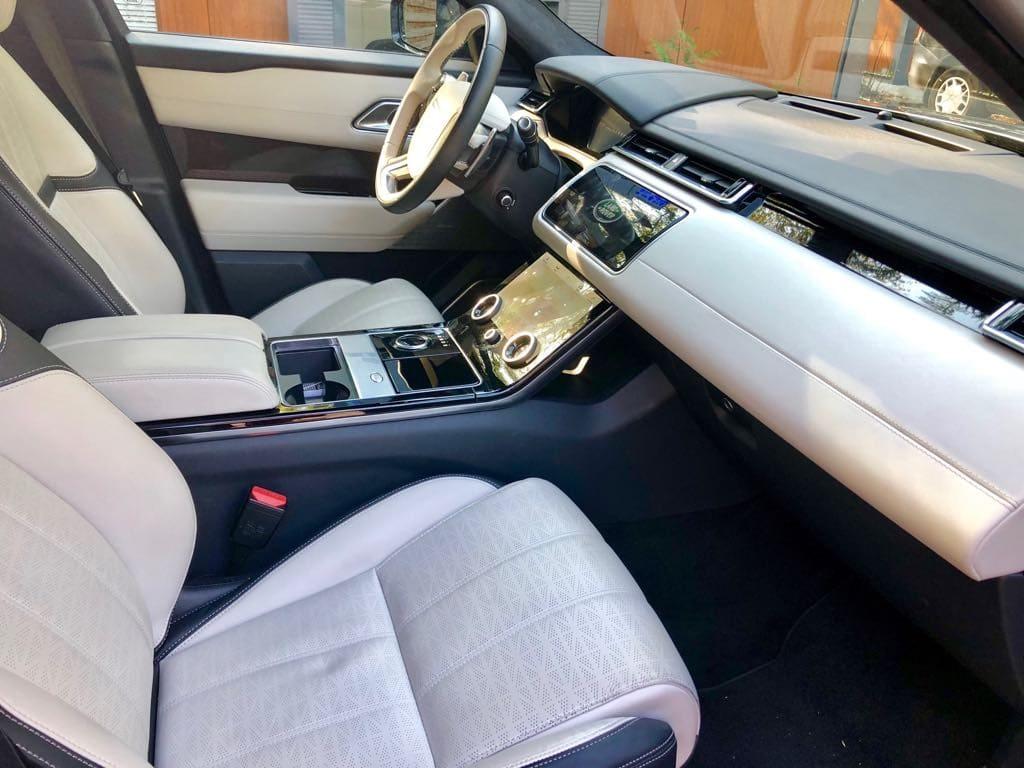 Range Rover Land Rover Velar wynajem samochodów warszawa 8
