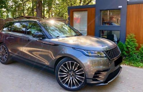 Range Rover Land Rover Velar wynajem samochodów warszawa