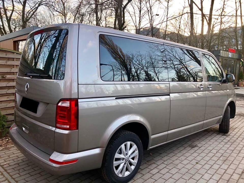 Volkswagen Caravelle wynajem samochodów warszawa 2