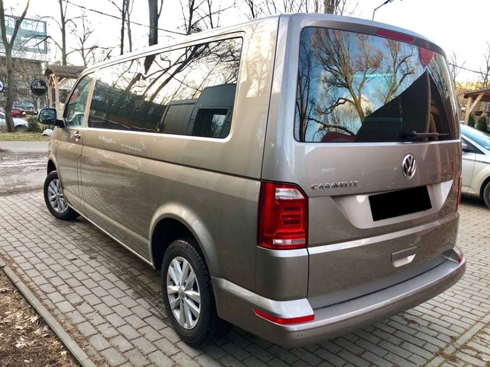 Volkswagen Caravelle wynajem samochodów warszawa 4