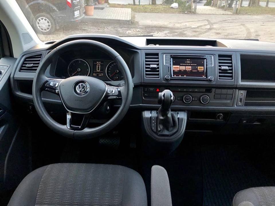 Volkswagen Caravelle wynajem samochodów warszawa 7