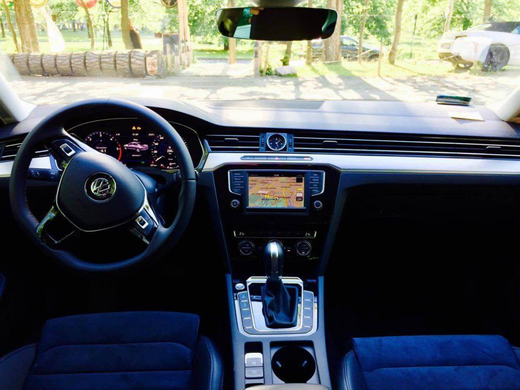 Volkswagen Passat wynajem samochodów warszawa