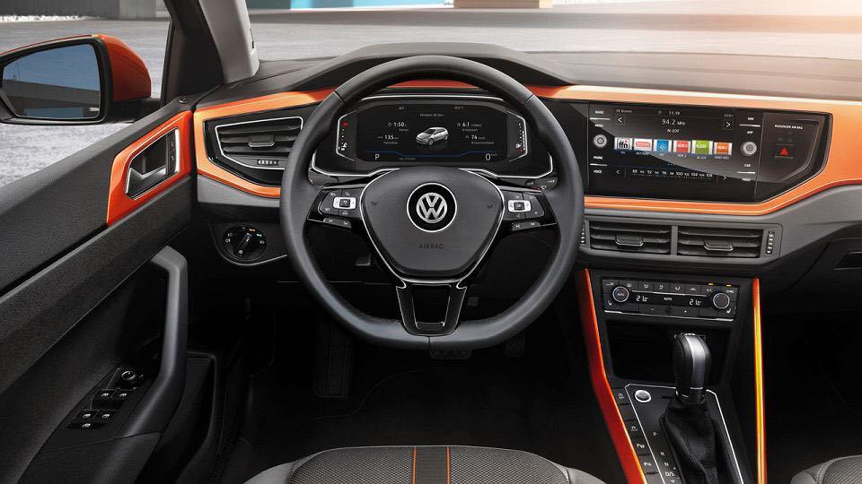 Volkswagen Polo wynajem samochodow warszawa 2