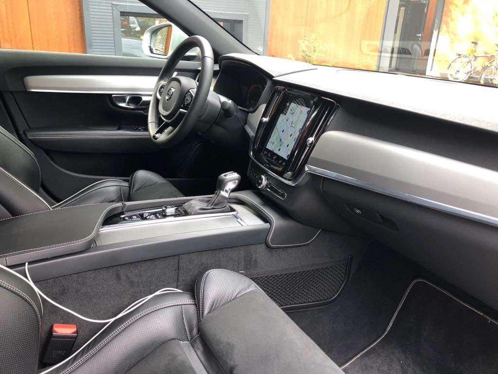 Volvo S90 wynajem samochodów warszawa 11