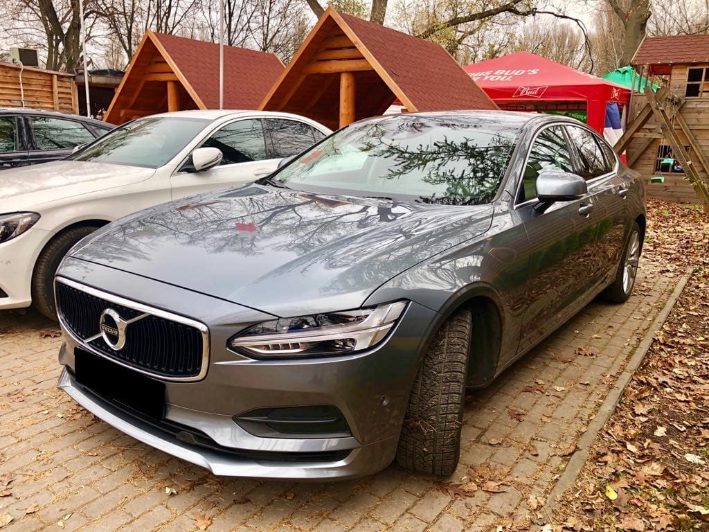 Volvo S90 wynajem samochodów warszawa 13