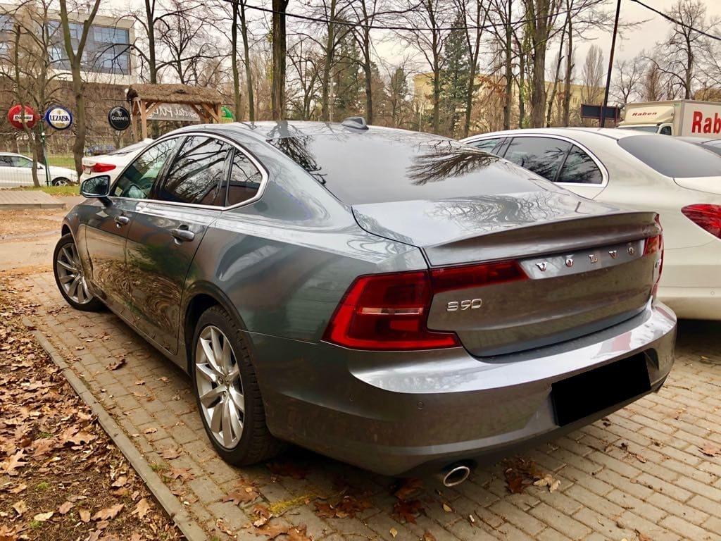 Volvo S90 wynajem samochodów warszawa 15