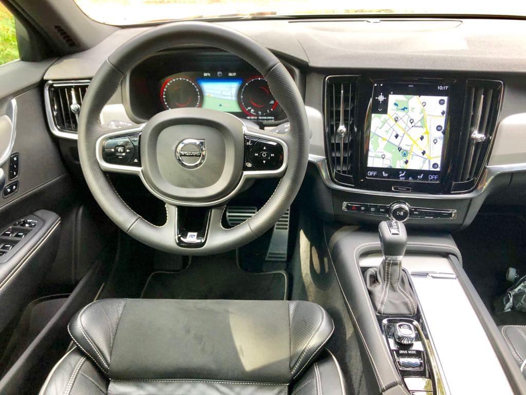 Volvo S90 wynajem samochodów warszawa 9
