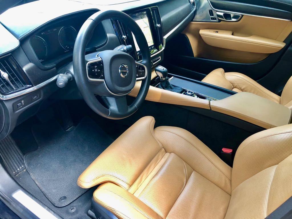 Volvo V90 wynajem samochodów warszawa 8