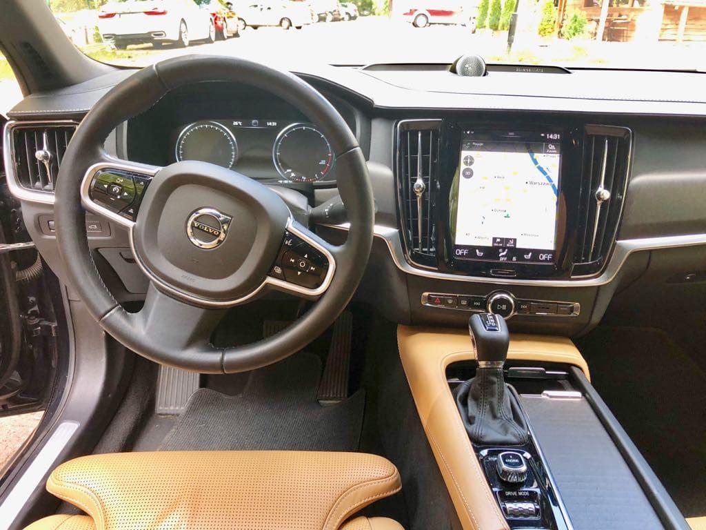 Volvo V90 wynajem samochodów warszawa 9