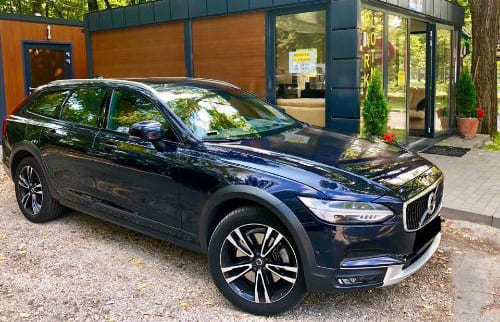 Volvo V90 wynajem samochodów warszawa